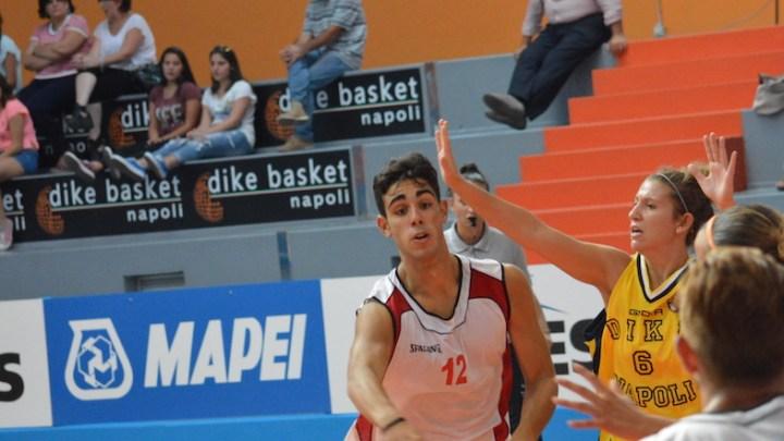 Under 18 Eccellenza: prima amichevole Vivi Basket con la DYKE Napoli