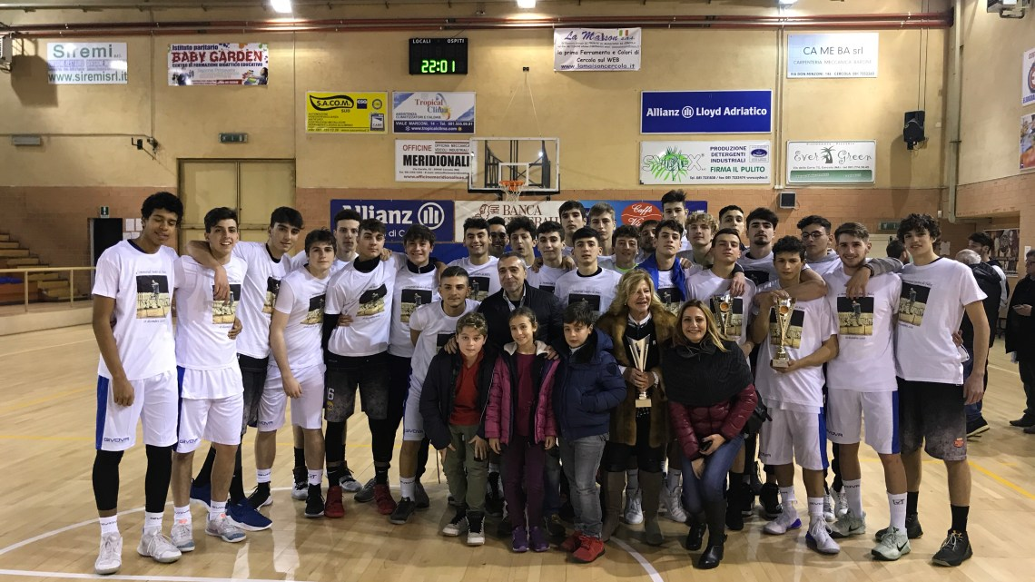 U18ecc: una bella vittoria per ricordare Sandro Di Falco
