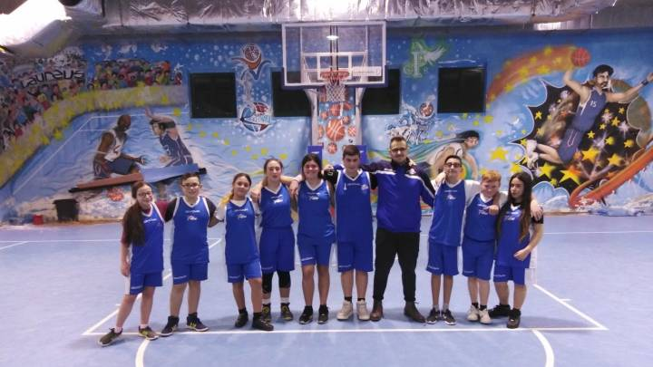UISP Under 14: all'esordio la squadra Vivi Basket