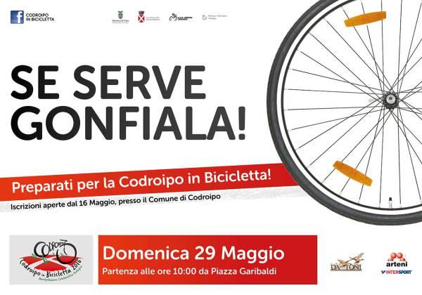 codroipo bicicletta 600x420 Codroipo in Bicicletta 29 maggio 2016