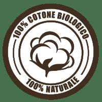 100% cotone biologico