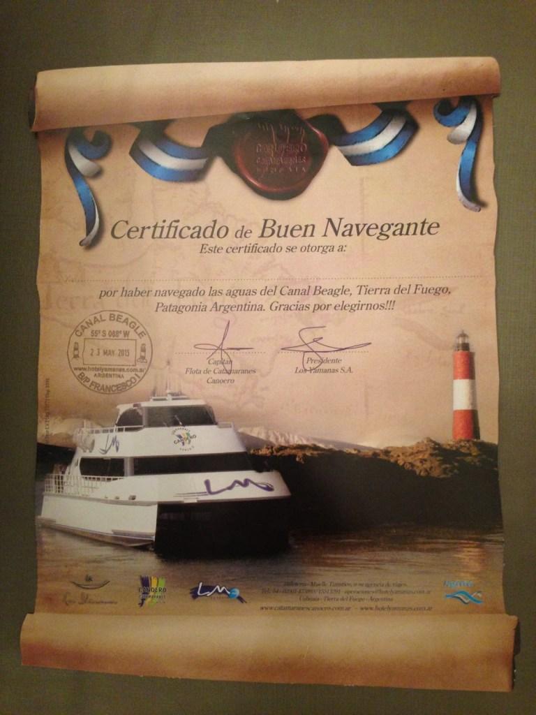 Navegação Canal Beagle Ushuaia