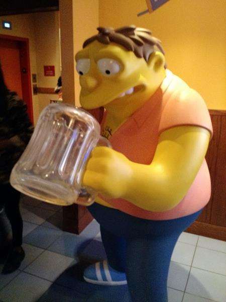 Universal Studios Hollywood - Simpsons - Barney