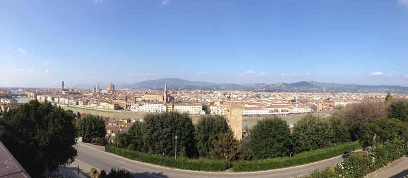 Vista Panorâmica Florença