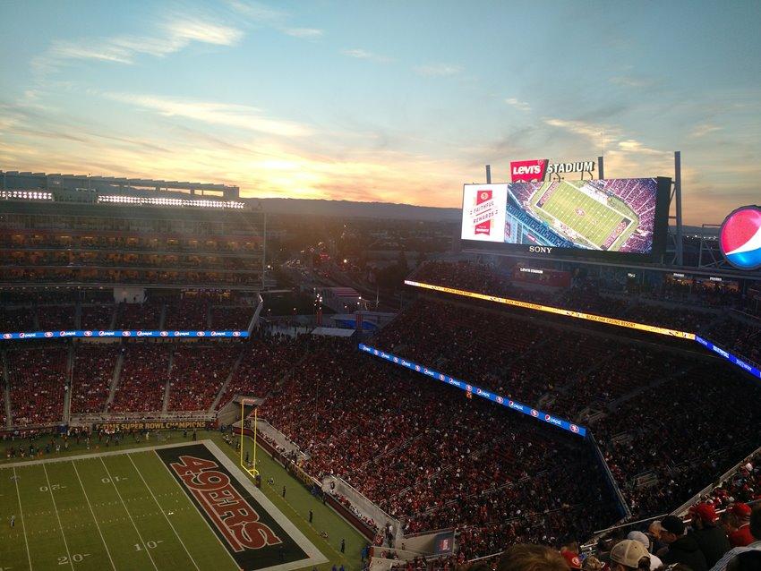 Levi's Stadium sunset