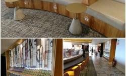Lounge Vip Gol decoração