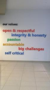 I valori di Microsoft