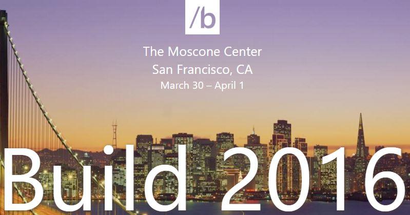 Build 2016 – Streaming dell'evento