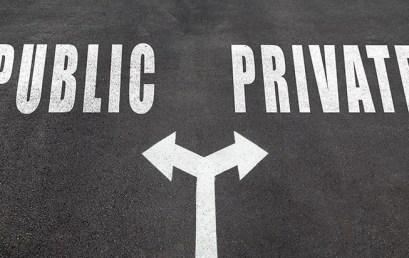 Blockchain pubbliche e blockchain private