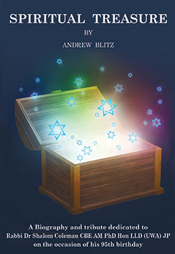 Spiritual Treasure - A biographical account of the life of Rabbi Coleman by Andrew Blitz