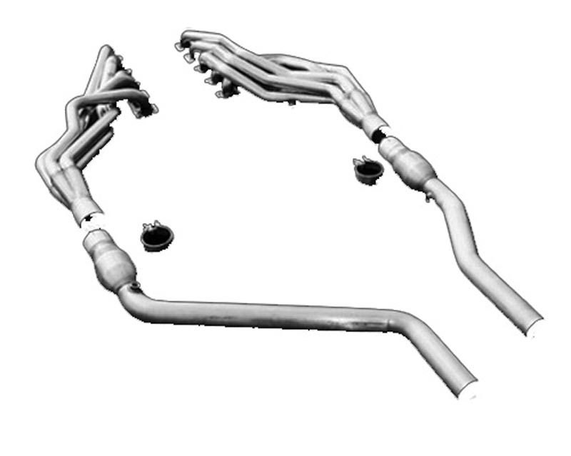 American Racing 1 3/4 x 3 Headers w/ 3 Cat-less Connecting