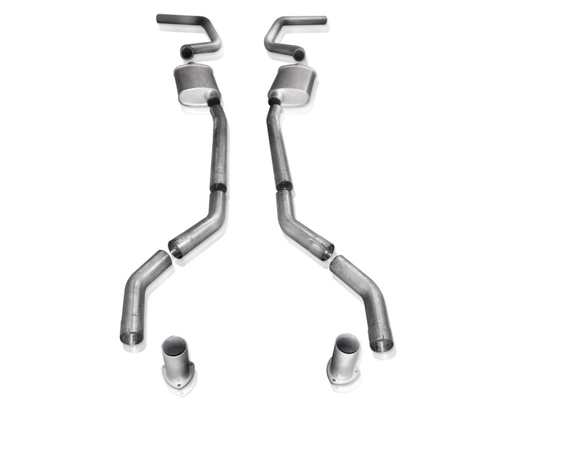 Stainless Works Aluminized Steel 2.5in Exhaust without X