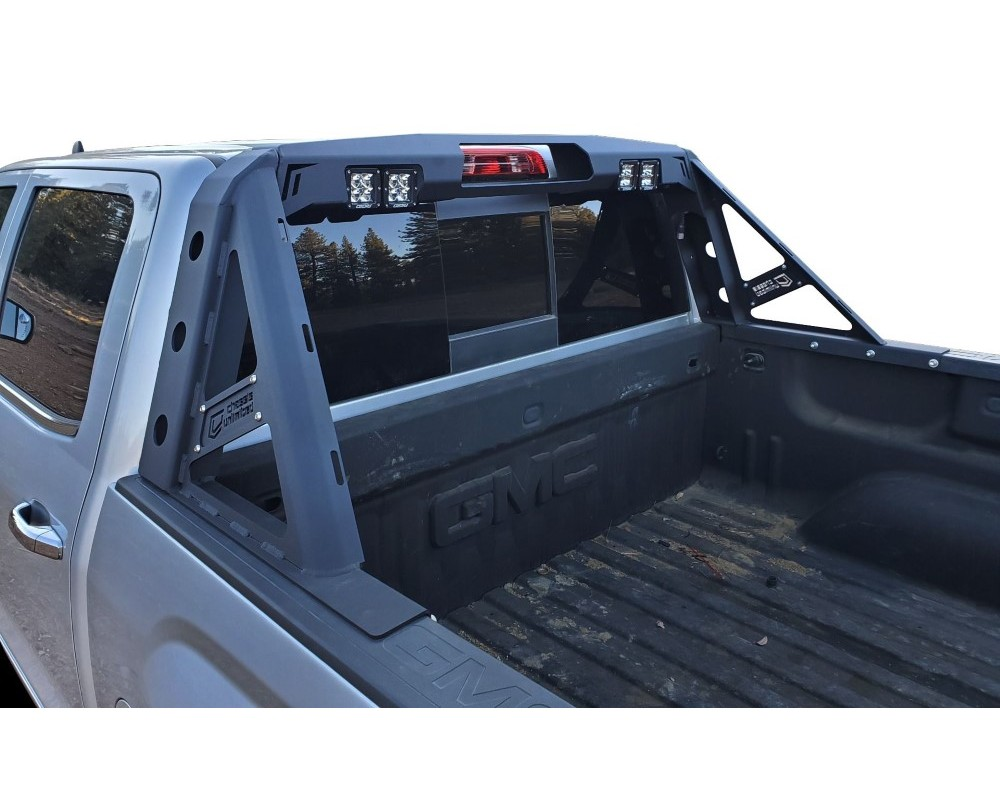 chassis unlimited ram headache rack for 89 93 dodge ram 150 250 350 chase rack octane series