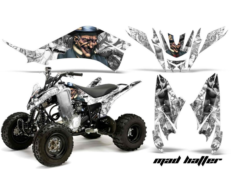 AMR Racing Decal Graphic Kit Quad Sticker Wrap HATTER