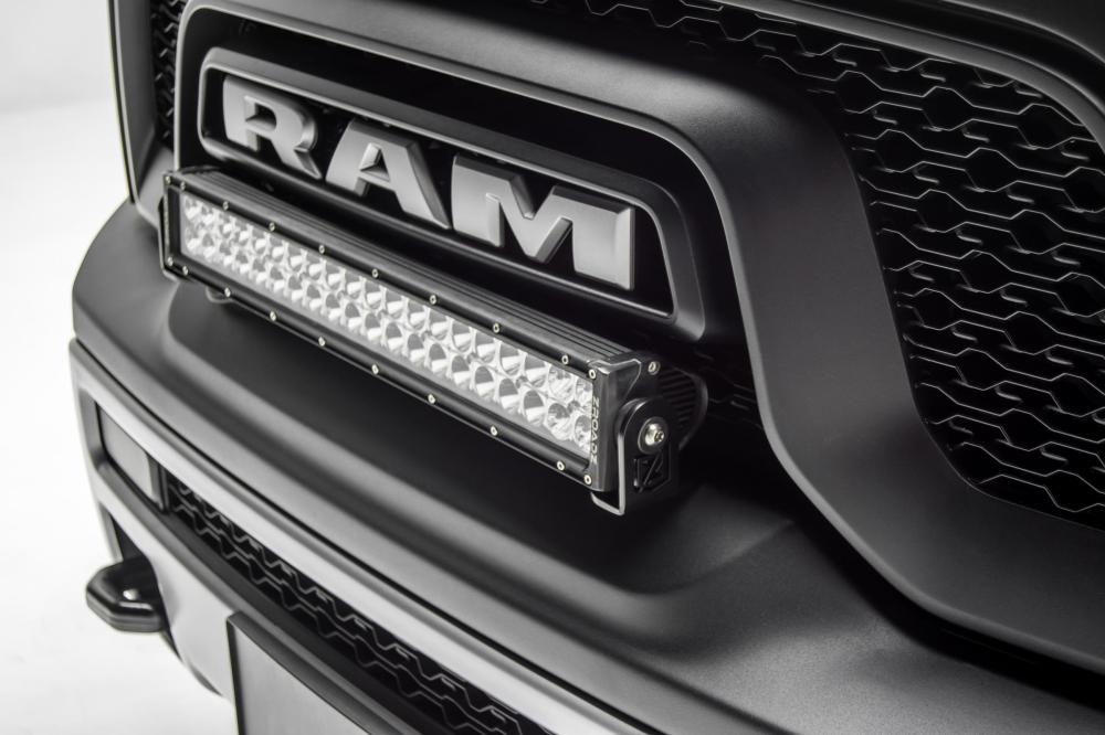 medium resolution of front bumper top led light bar kit 15 pres ram rebel w 20 inch
