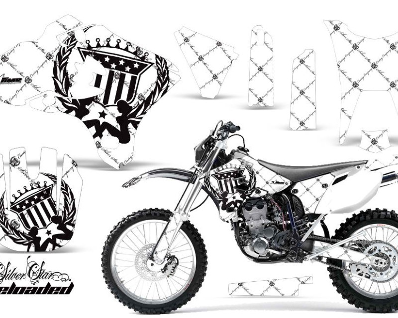 AMR Racing Dirt Bike Graphics Kit Decal Wrap For Yamaha