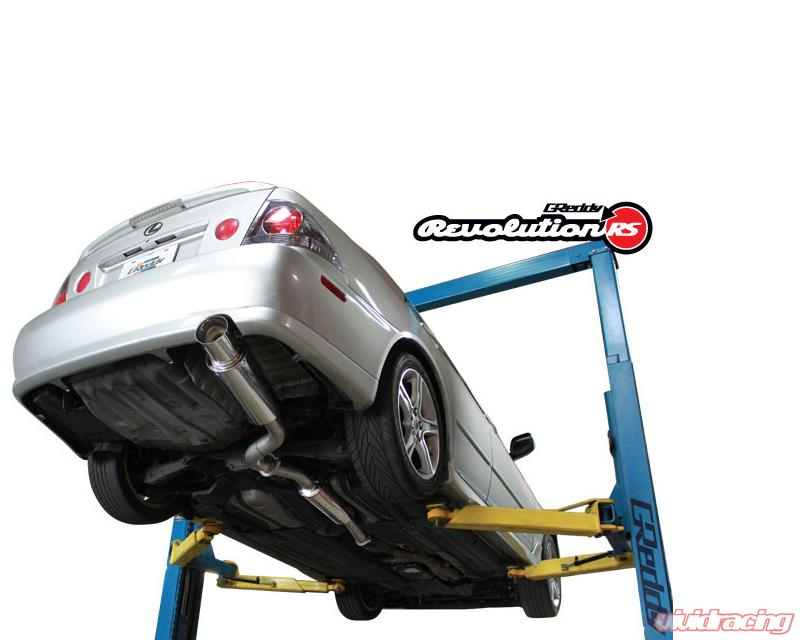 details about greddy revolution rs exhaust for 01 05 lexus is300 10118100