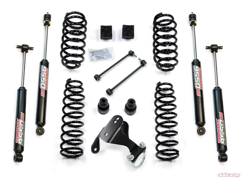 Jeep JK 2 Door 2.5 Inch Lift Kit w/ 9550 VSS Shocks 07-18