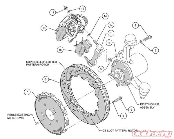 Wilwood 13 Inch Rear Big Brake Kit w/Combination Parking