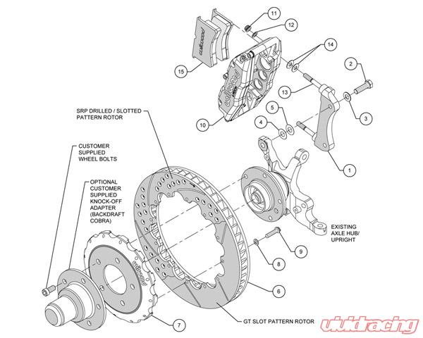 Wilwood Superlite-6R 14 Inch Front Big Brake Kit BMW 3