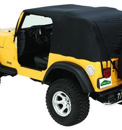jeep emergency soft top 76 91 jeep cj7 wrangler w rain ponchos and [ 1500 x 936 Pixel ]