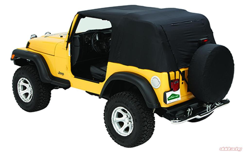 medium resolution of jeep emergency soft top 76 91 jeep cj7 wrangler w rain ponchos and