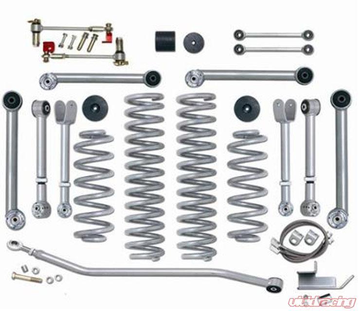 TJ Lift Kit 3.5 Inch Super Flex No Shocks 97-06 Wrangler