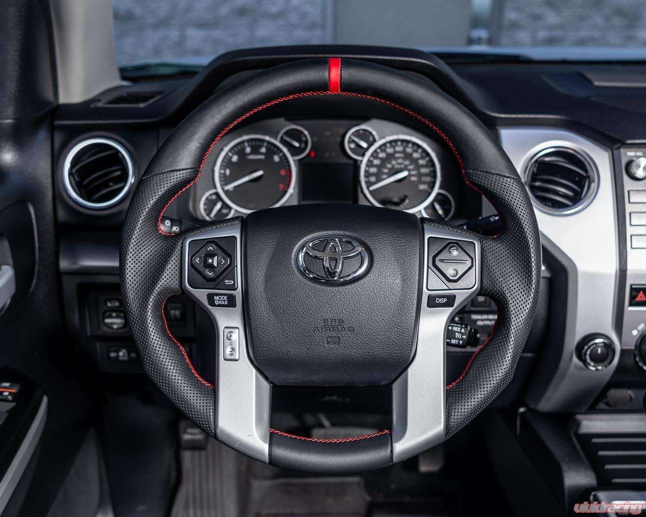 hight resolution of toyota tundra 4runner tacoma oem steering wheel carbon fiber white stitching vr