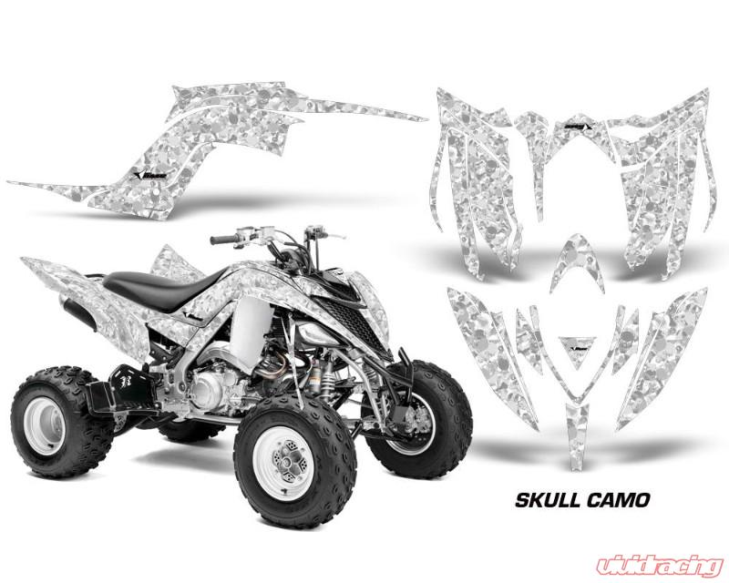 AMR Racing Graphics Kit Decal Sticker Wrap SKULL CAMO