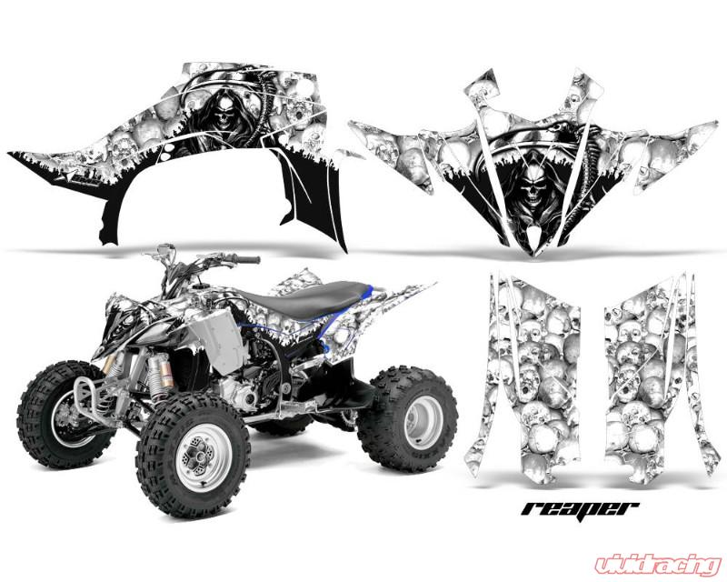 AMR Racing Graphics Kit Quad Decal Sticker Wrap REAPER