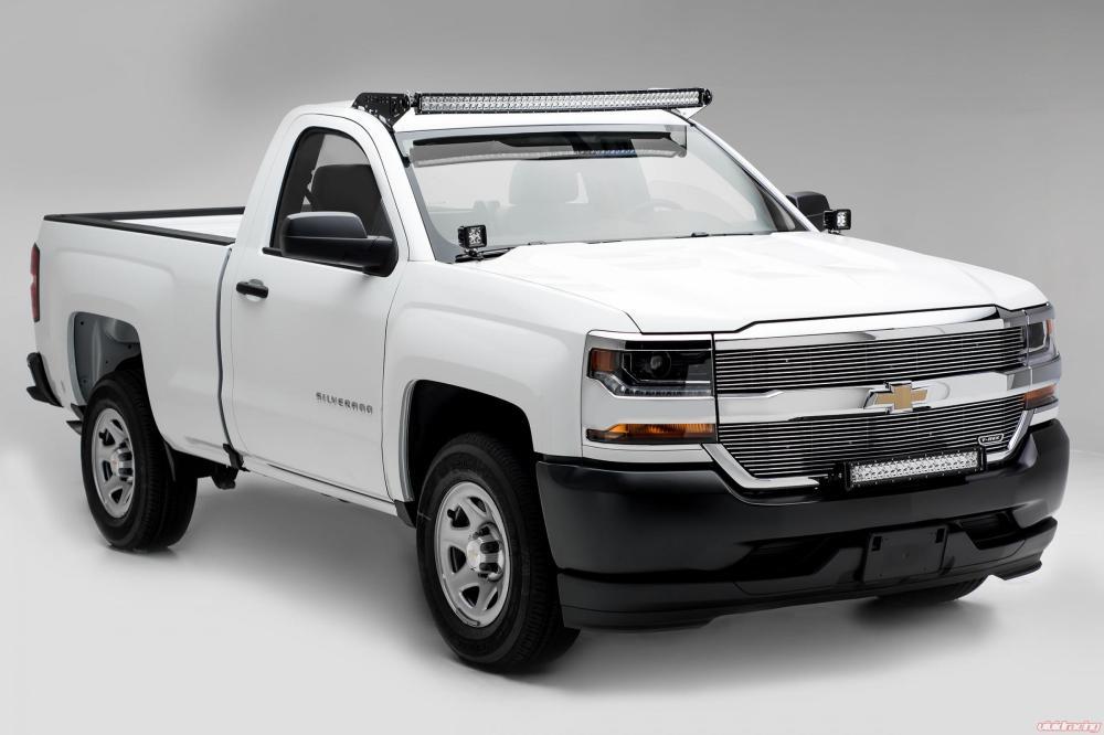 medium resolution of front bumper top led light bar mount kit w 30 inch led light bar includes