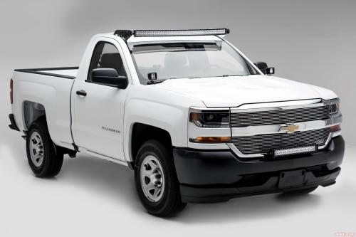 small resolution of front bumper top led light bar mount kit w 30 inch led light bar includes