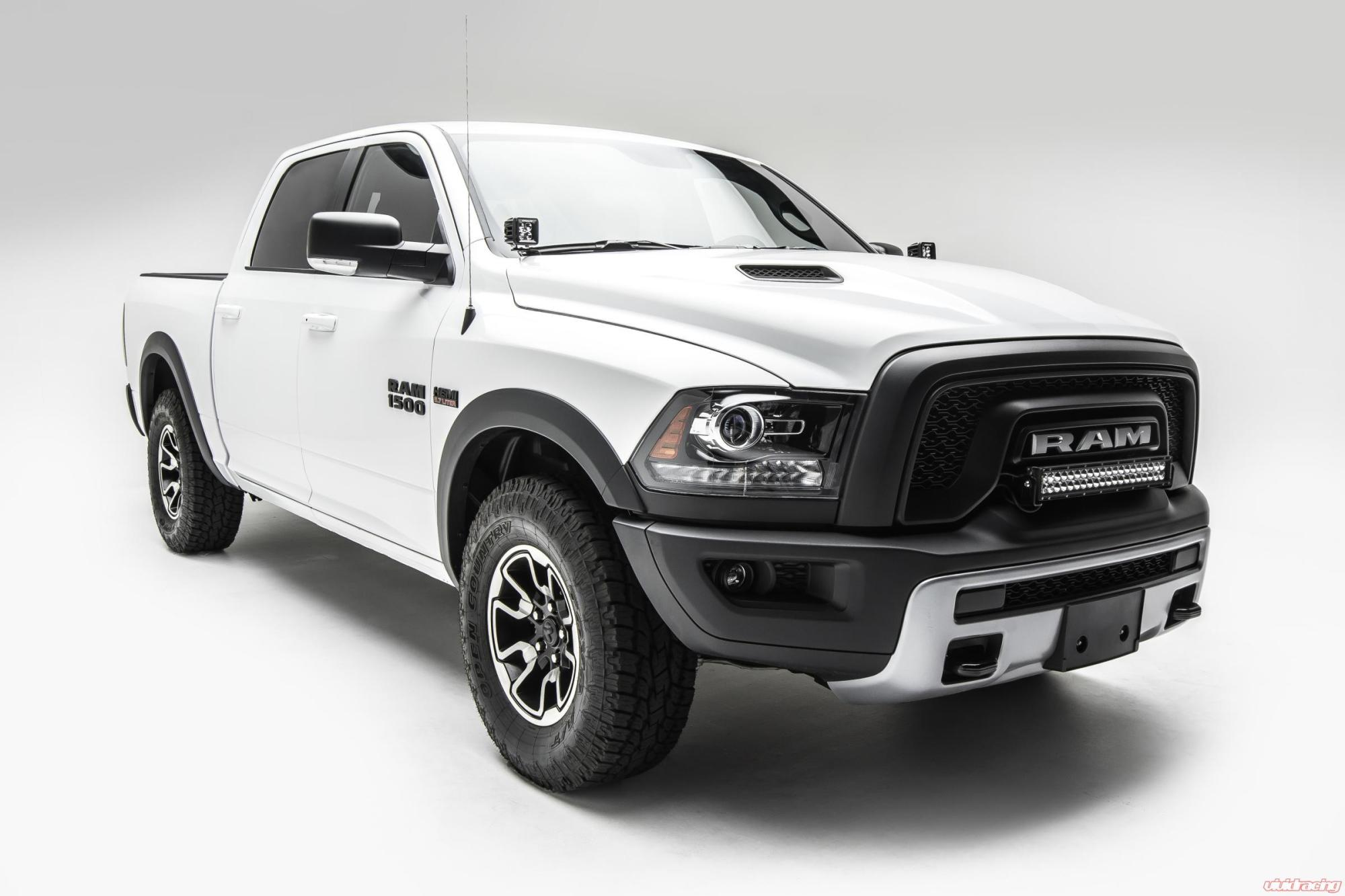 hight resolution of front bumper top led light bar kit 15 pres ram rebel w 20 inch