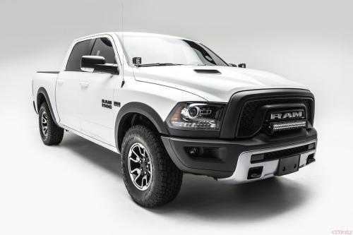 small resolution of front bumper top led light bar kit 15 pres ram rebel w 20 inch