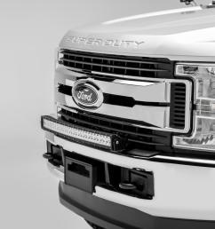 z325472 kit front bumper top led light bar kit 2017 ford f 250 f rh vividracing com ford f 150 1999 ford f250 trailer wiring harness [ 2400 x 1600 Pixel ]