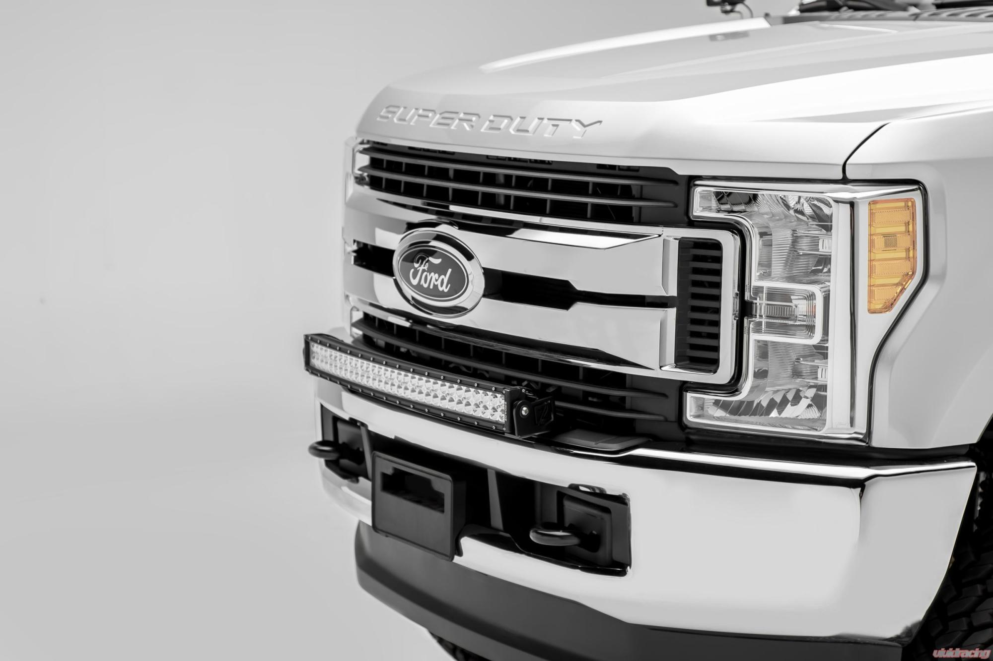 hight resolution of z325472 kit front bumper top led light bar kit 2017 ford f 250 f rh vividracing com ford f 150 1999 ford f250 trailer wiring harness