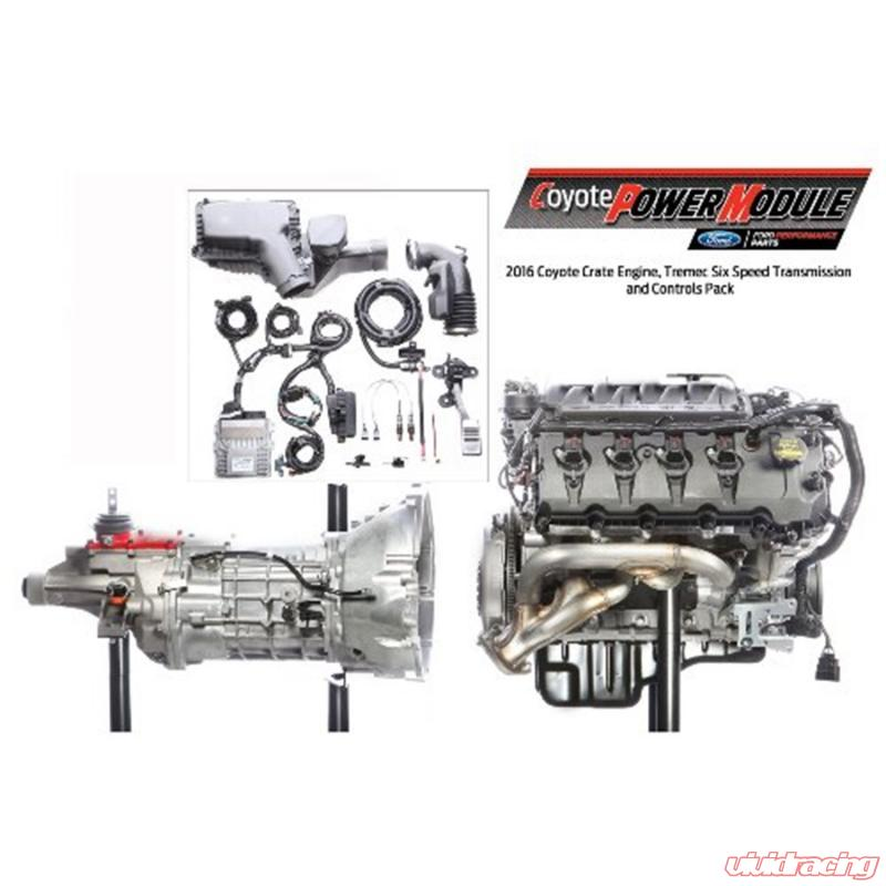Ford Racing 5.0L COYOTE POWER MODULE 6 SPEED MANUAL
