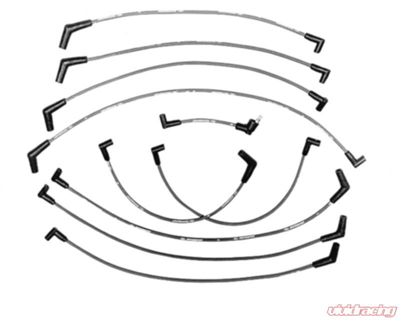 Ford Racing 9MM IGNITION WIRE SET BLUE