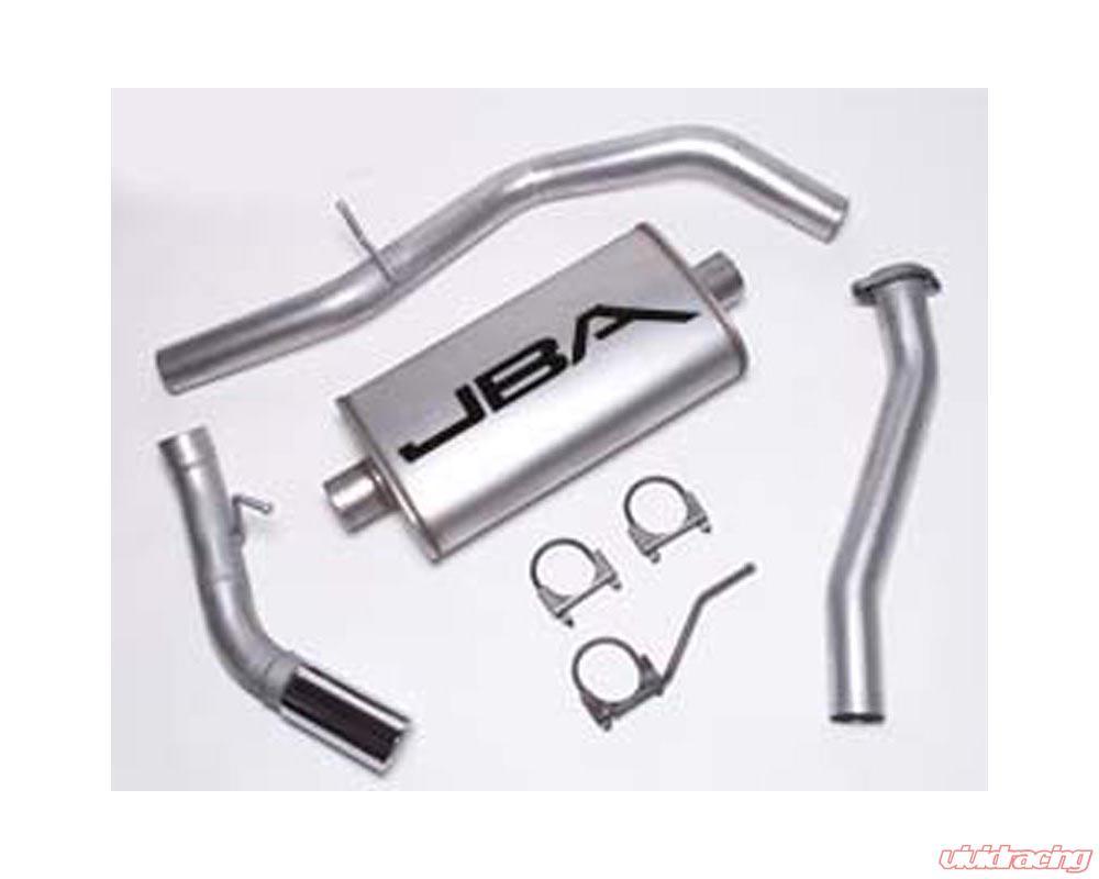jba aluminum exhaust chevy silverado 4 3 4 8 5 3l ec lb 02 05