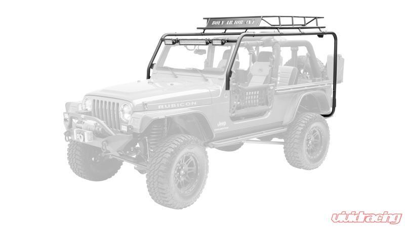 body armor 4x4 roof rack box 2 of 2 jeep wrangler 97 06