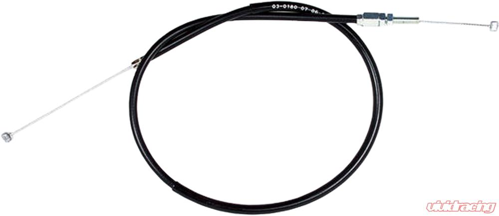Motion Pro Black Vinyl Throttle Push Cable 03-0180