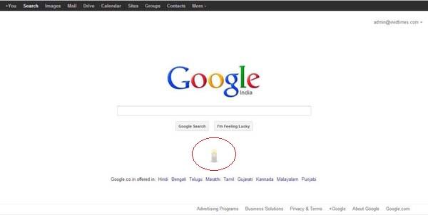 Google India tributes to the Delhi girl
