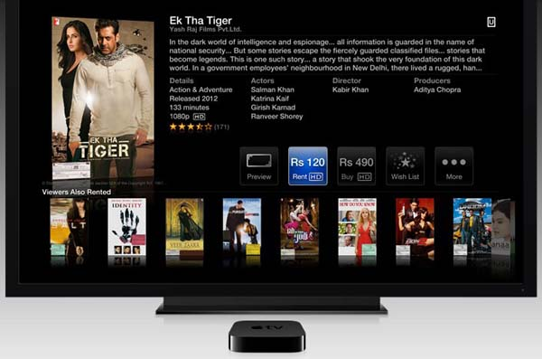 indian apple tv