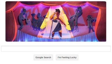 google doodle of lady ella