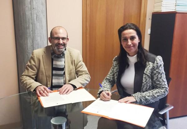Firma del convenio para la incorporación de Aledo a SivMurcia.