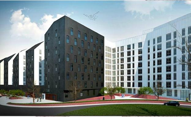 El Ayuntamiento de Bilbao inicia la construcción de 66 nuevos alojamientos dotacionales para jóvenes