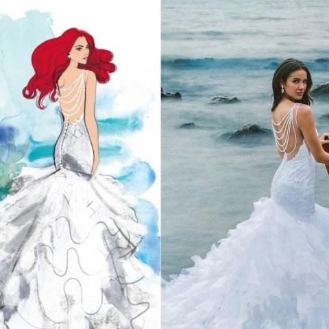 Compañía-de-novias-lanza-línea-de-vestidos-inspirados-en-Disney 18/06/20