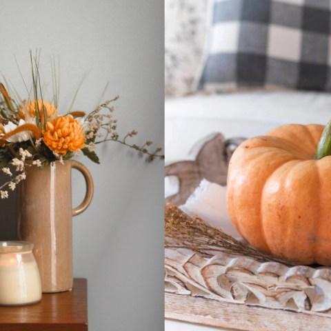 5 ideas sencillas para darle la bienvenida al otoño en tu hogar