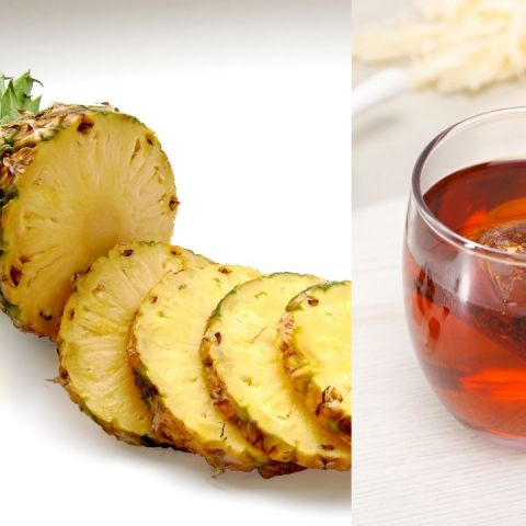 como tomar té de piña para adelgazar