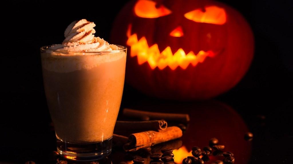 pumpkin spice coffee Halloween